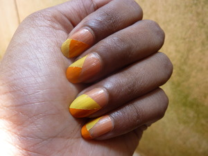 """Hi Guys,    Yet another very easy nail art tutorial for you guys to try out, but this one will take time.. I have been seeing this colour blocking everywhere I look, so I thought that I will give it a try..   I hope you like this video :D..  Have you tried this product?...Do share your views with me..  Thank you so much for watching my video :D.. Your support means a lot to me :)).. Please don't forget to like,share and comment..     Disclaimer:  I have bought the product's mentioned in the video with my money.. Any reviews/thoughts/etc about it is my own opinion.. I am in no way affiliated with the company..     you might also like: other nail art tutorial's that I have done 1. Tutorial : Nail Art : Marble Nail Art Effect Without Water     http://www.youtube.com/watch?v=M3TzhX3btmI 2. Tutorial : Nail Art : Using KONAD image plate m73     http://www.youtube.com/watch?v=7podhopcVtI 3. Tutorial : Nail Art : Effect created using plastic bag     http://www.youtube.com/watch?v=fXRogE_dw8g   nail polish's that I have reviewed 1. ELLE 18 Color Bomb collection nail polish number 34 review     http://www.youtube.com/watch?v=J2wmLuYKClg 2. review : Earthen Rose nail polish number 68 by COLORBAR     http://www.youtube.com/watch?v=WJVfm2icfS4     to download this song """"Sparkle"""", visit the link mentioned below http://www.vimalkrishna.com/images/music/sparkle-vimal.mp3     follow me:  Face Book: http://www.facebook.com/bangalorebengaluru  You Tube channel: http://www.youtube.com/bangalorebengaluru  Orkut: http://www.orkut.co.in/Main#Community?cmm=15170894  E Blogger: http://bangalorebengalurublog.blogspot.in    tags channel , BangaloreBengaluru , Bangalore , Bengaluru , city , INDIA , country , Indian , items used , nail polish , acetone , cotton , brand , shade , top coat , colorbar , faces ,  fast and fabulous 40 , lakhme , green , yellow , orange , 30 sunshine yellow , scissor , scotch tape , 89 sunstone , persimmon 01 , nail art , tutorial , tutorials , free , how to , video """