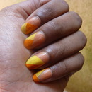 Tutorial : Nail Art :  Color Blocking effect