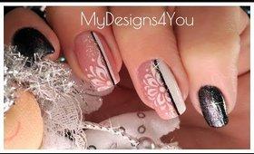Winter New Year's Nail Art Design  ♥