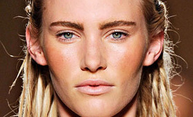 Max Mara Makeup, Milan Fashion Fashion Week S/S 2012