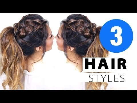 3 Cute Af Summer Hairstyles Girls Updo Hairstyle Tina Makeupwearables L Video Beautylish