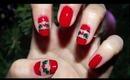 Happy Holidays Nails
