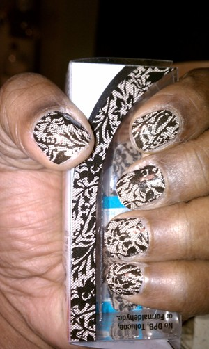 I love the Sally Hansen nail strips!