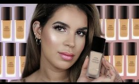 HIT OR MISS?! NEW HOURGLASS VANISH LIQUID FOUNDATION | Review