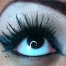 dark blue lashes