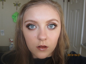 This is my look for a Shadowhunter from the Mortal Instruments series. I will also be making Runes soon.