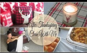 After Thanksgiving Clean With Me | Entire House Deep Clean