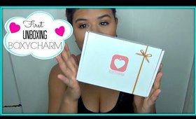 Unboxing BoxyCharm August 2014
