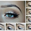 Shimmer soft smokey eyes
