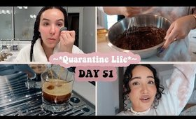 day in my life quarantine   skincare, baking, nature ♡ #stayhome
