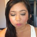 Celina formal makeup