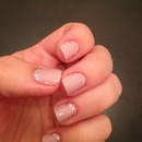 Simple Girly manicure