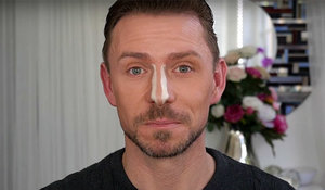 How to contour a narrow nose