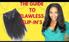 How to Install Undetectable Clip-In Hair Extensions