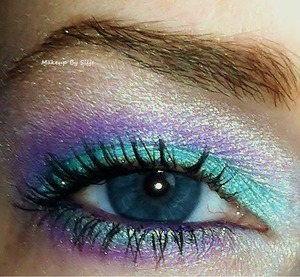 A look I did inspired by the talented GlitterGirlC