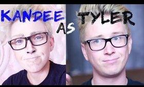 Girl Turns Into Guy - Tyler Oakley Transformation by Kandee Johnson
