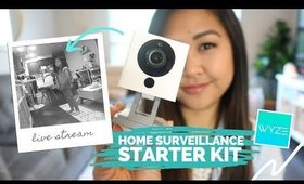 Home Surveillance Starter Kit Under $50! Wyze Cam