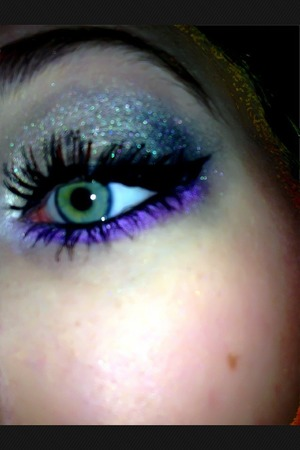 ⭐My Purple Eye Makep⭐