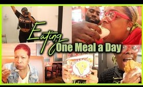 I ATE ONE MEAL A DAY FOR AN ENTIRE WEEKEND | INTERMITTENT FASTING