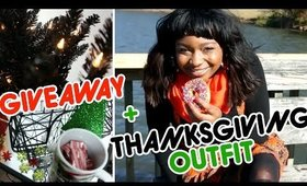 Thanksgiving Outfit & HolidayGiveaway | CloseupwithKamii