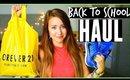 Back To School Clothing Haul 2015