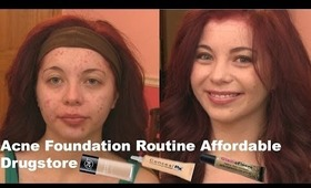 Acne Foundation Routine Affordable Drugstore