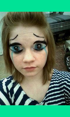Anime Eyes Makeup