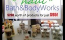 HUGE Bath & Body Works Shopping Spree-Haul