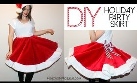 DIY Holiday Party (Tree) Skirt