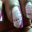 Water Marble & Dots: Nails Of The Day