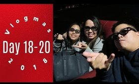Vlogmas Day18-20 Trying Puerto Rican Food & Spiderverse | Grace Go