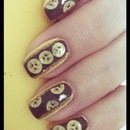 Banana Split Nails