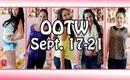 OOTW: September 17 - 21 ♡