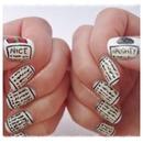 Naughty/Nice nails