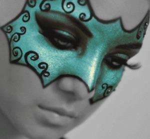 Makeup I did for an avant garde class