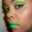 Lime Green Look
