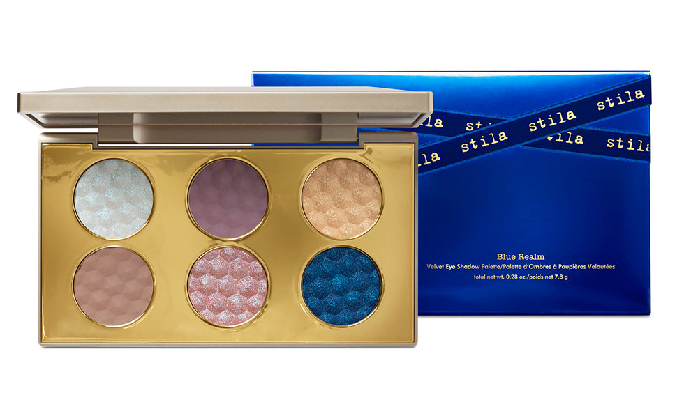 Stila Cosmetics Blue Realm Velvet Eyeshadow Palette