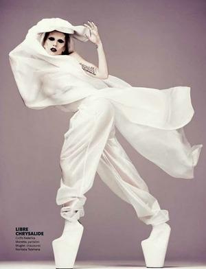 madame FIGARO 2011 - Lady Gaga by Mariano Vivanco 02
