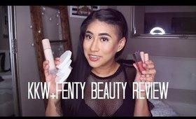 KKW+Fenty Beauty Review | CARLA KATRINA