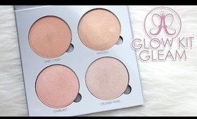 Review & Swatches: ANASTASIA BEVERLY HILLS Glow Kit, Gleam | Dupes!