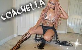 Coachella Festival Makeup & Outfit   MISSSPERU