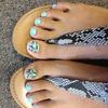 Betsy Johnson inspired toes