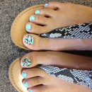 Betsy Johnson inspired toes