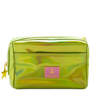 Makeup Bag Holographic Alien Yellow