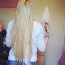 My hair last summer.!