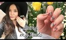Japan Vlog 4 | Doing My Nails (Tutorial Vlogging Style), Eating Sea Urchin Sushi ♡ 2017