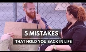 How to be happy | 5 Mistakes That Hold You Back - Motivational Video