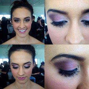 Mua -Clare Bratina / Bratina Beauty Model - Ashley Cannon