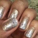 Gold and Silver Sparkle