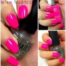 Hot Pink Mani